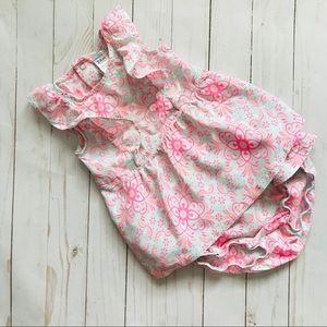 2/$10 Carters 2Piece Blouse and diaper cover